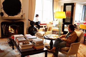 ANDY SPADE AND KATE SPADE at home in New York.jpg